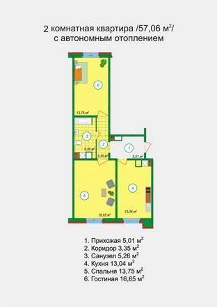 Схемы квартир.